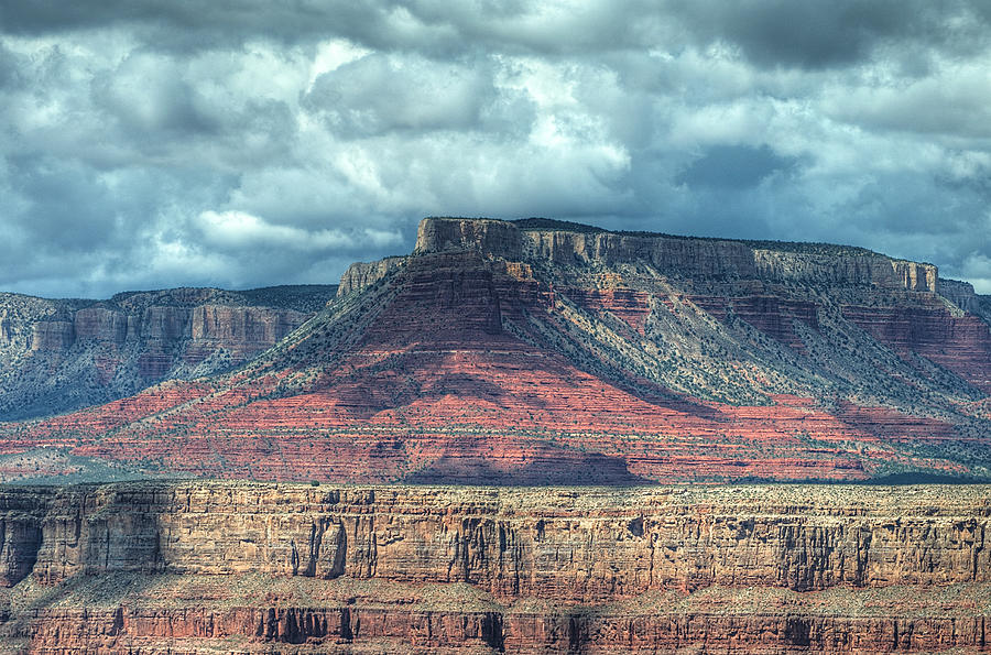 Storm Clouds Over Grand Canyon Photograph
