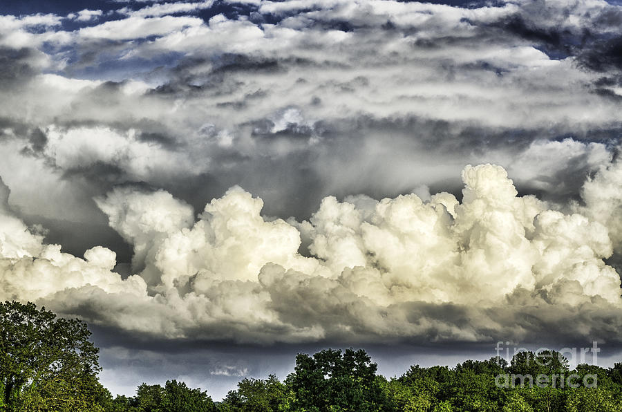 Storm Clouds Over Mountain Photograph  - Storm Clouds Over Mountain Fine Art Print