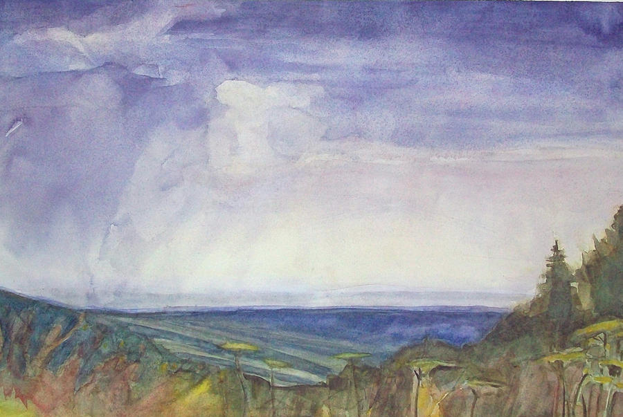 Storm Heaves - Hog Hill Painting  - Storm Heaves - Hog Hill Fine Art Print