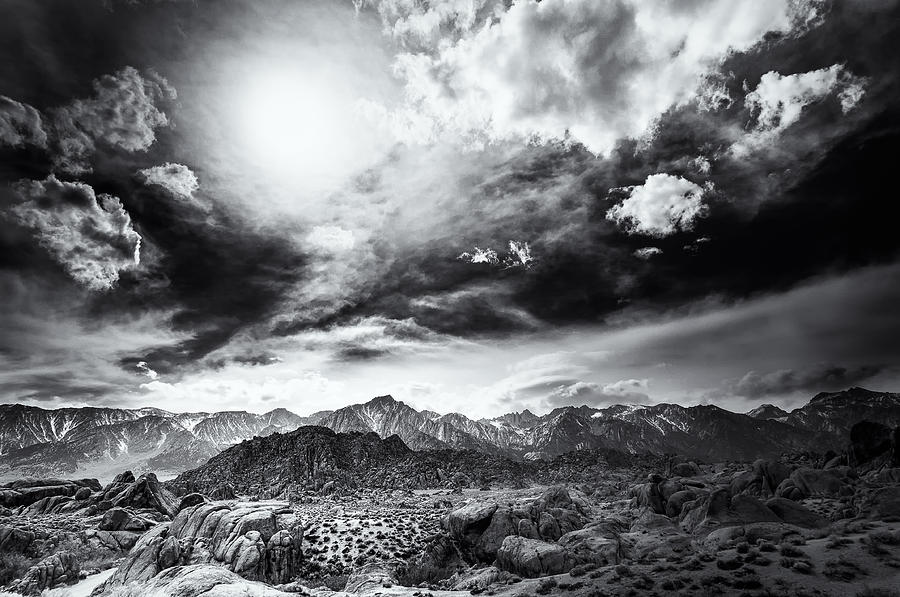 Storm In The Alabama Hills Photograph