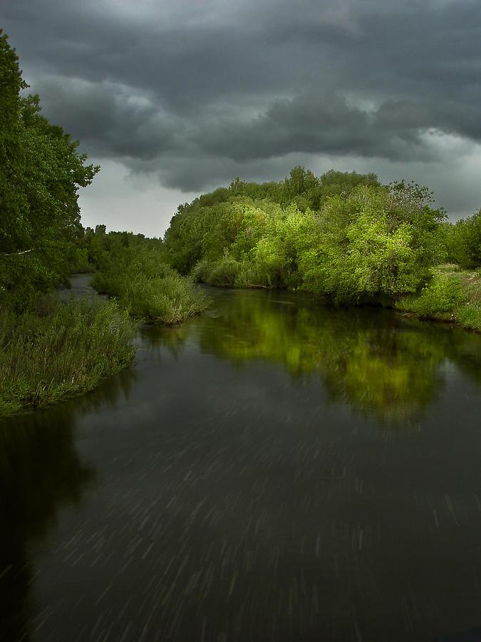 Poudre River Photograph - Storm Over The Poudre by Michael Van Beber