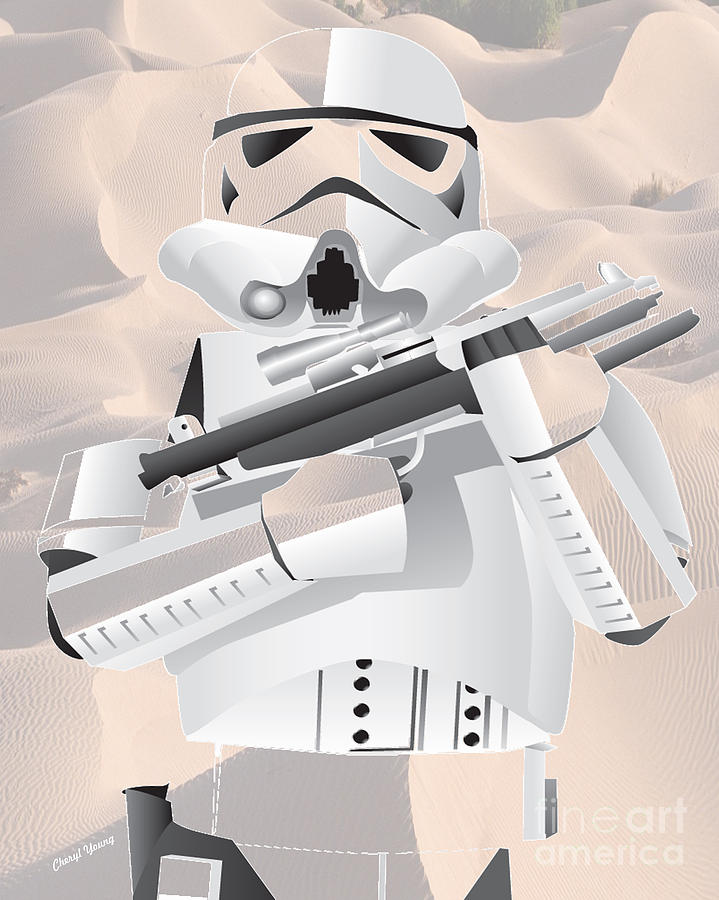 Storm Trooper Photograph  - Storm Trooper Fine Art Print