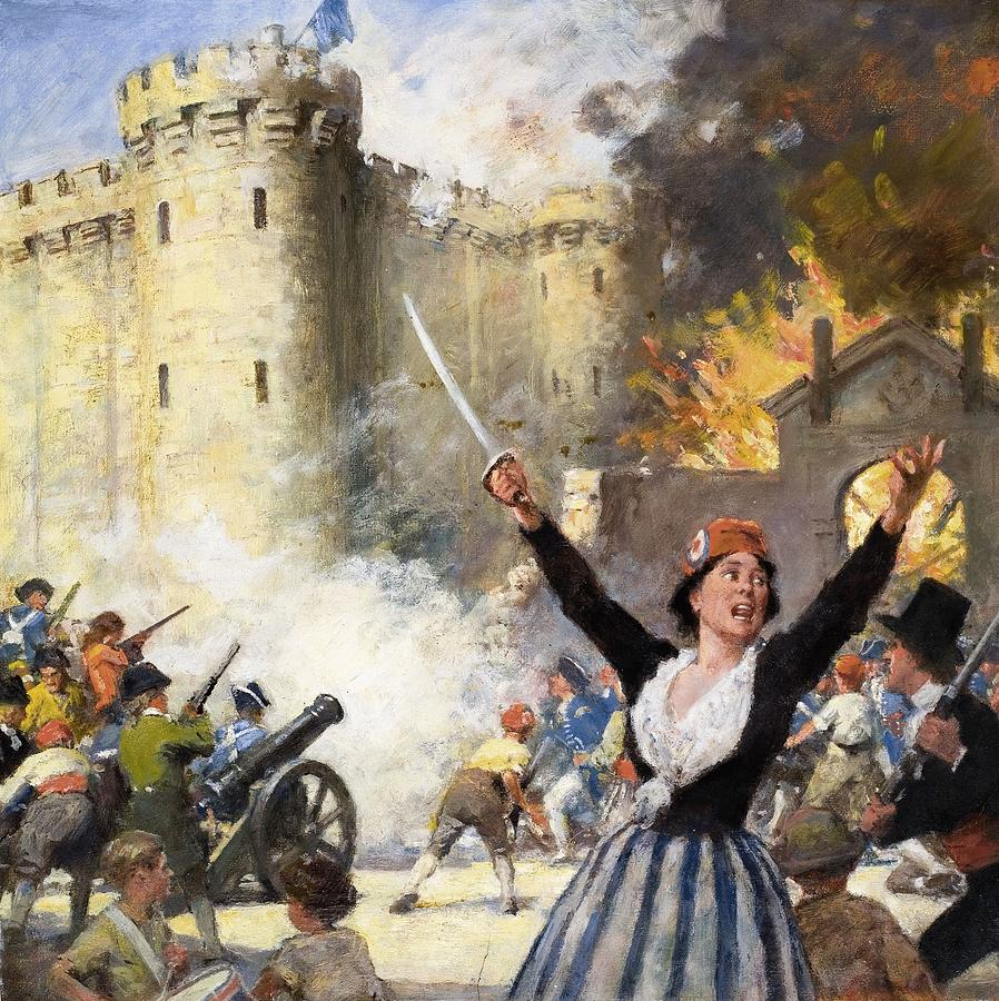 the bastille and the french revolution The fall of the bastille is an important landmark in the history of the french revolution france observed 14th july 1789 as the independence day.