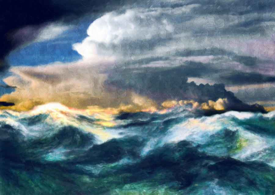 Storms And The Power Of Nature Painting