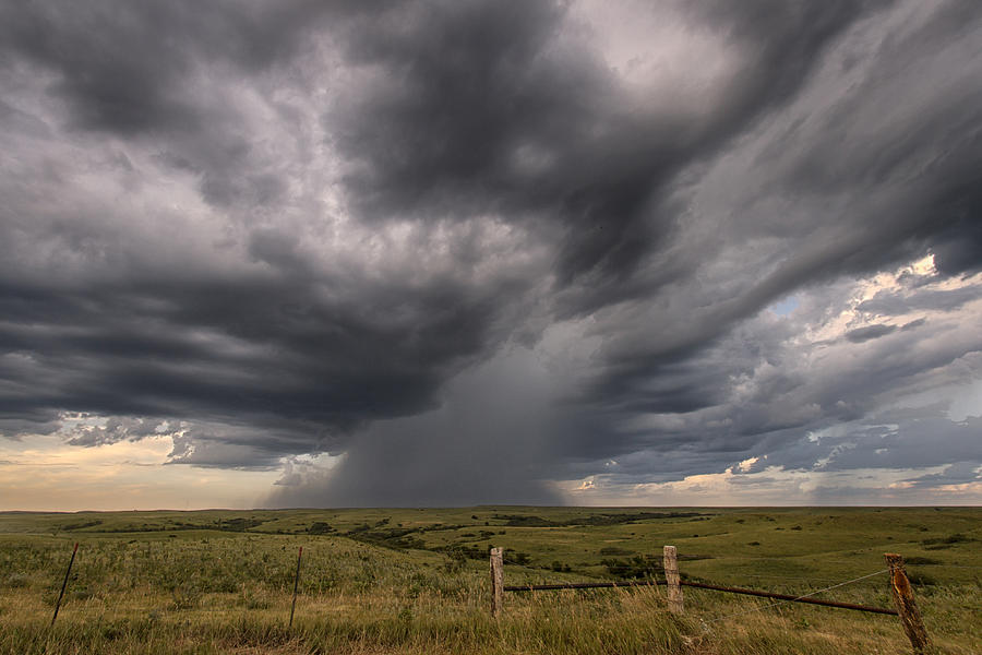 Storms Brewing Photograph