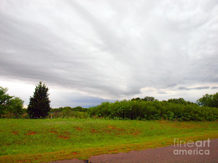 Stormy Cloud Photograph  - Stormy Cloud Fine Art Print
