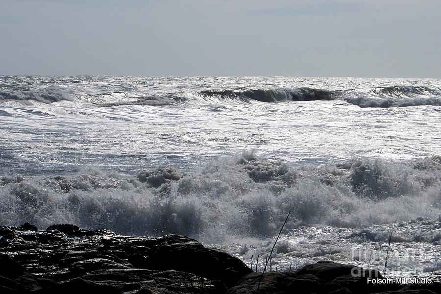 Stormy Day Along The New Hampshire Seacoast Photograph  - Stormy Day Along The New Hampshire Seacoast Fine Art Print