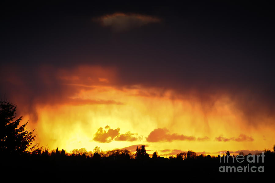 Stormy Sunset Photograph