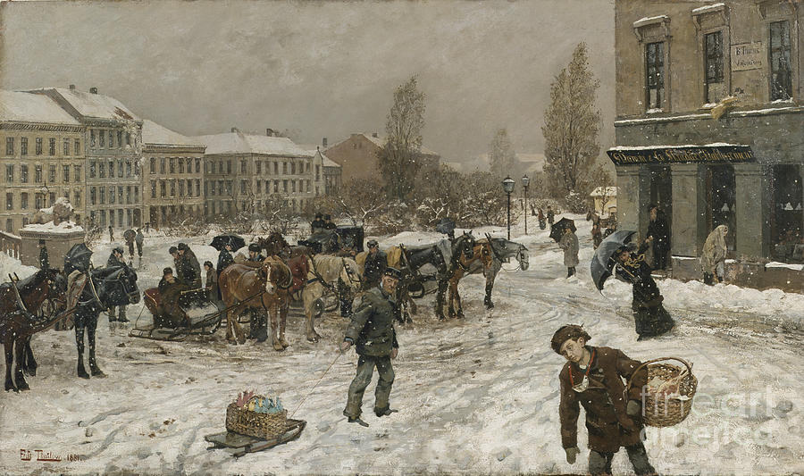 [inspi] Expositions / Musées / Salons... - Page 3 Stortingsplass-frits-thaulow