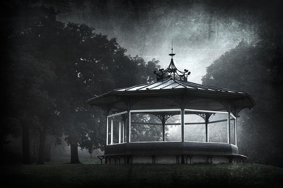 Abandoned Photograph - Storytelling Gazebo by Svetlana Sewell