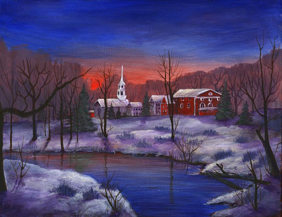 Stowe - Vermont Painting