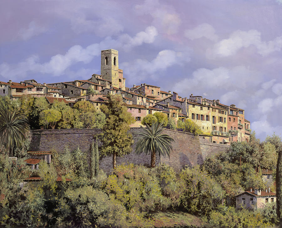 St.paul De Vence Painting