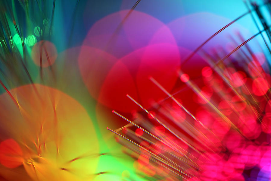 Abstract Photograph - Strange Days by Dazzle Zazz