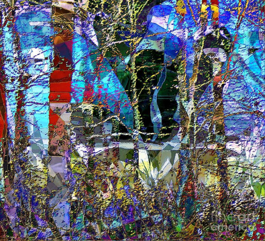 Strange Landscape Painting