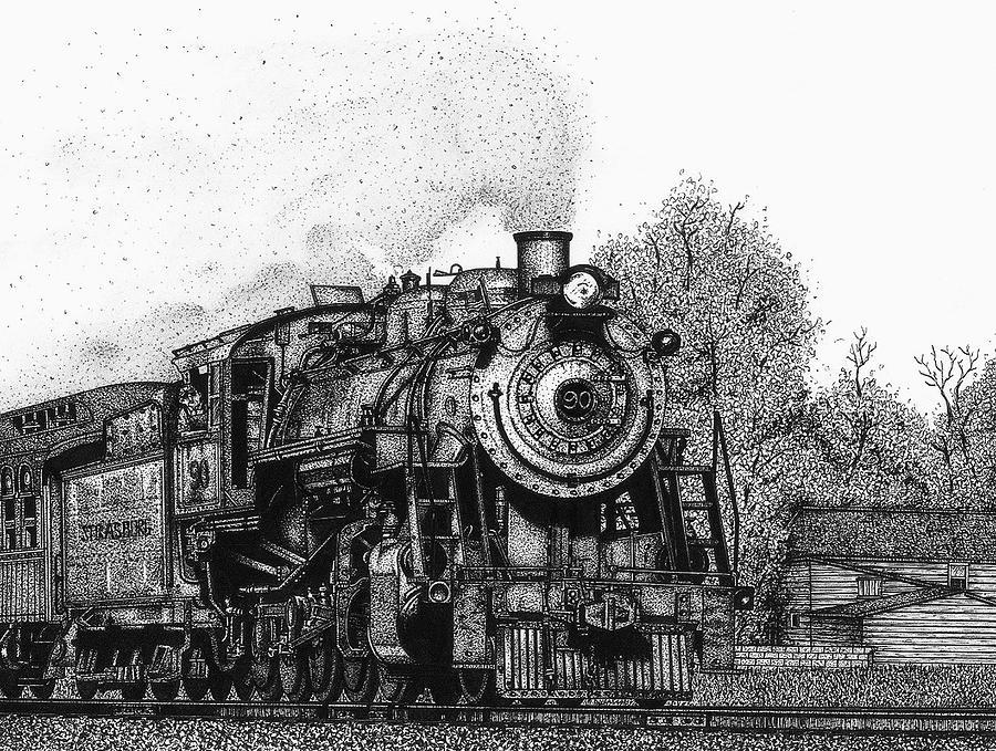 Strasburg Railroad Drawing