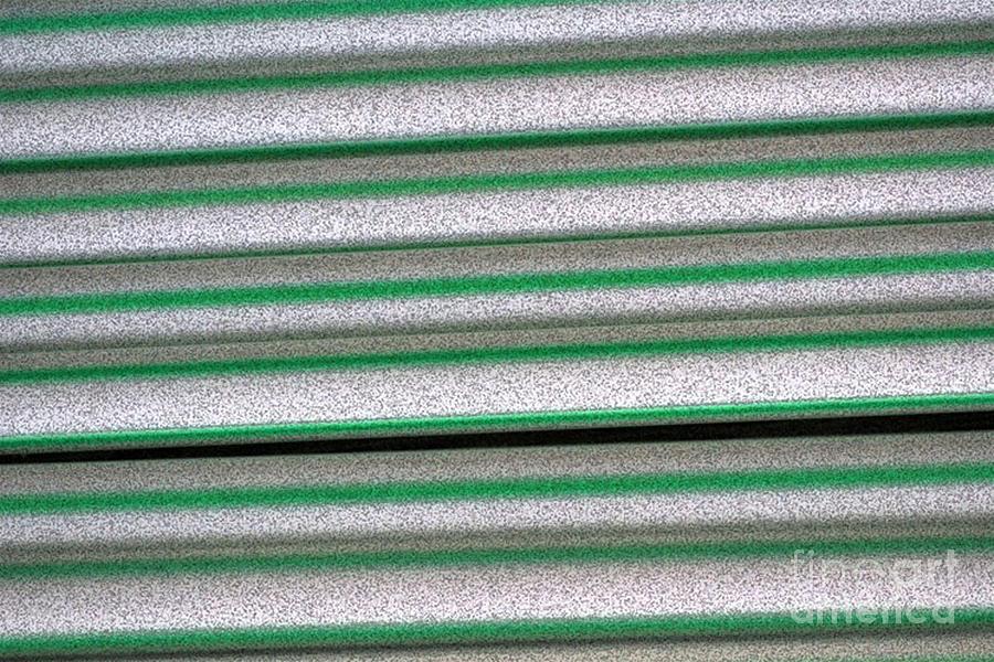 Green Digital Art - Straw Green by Carol Lynch