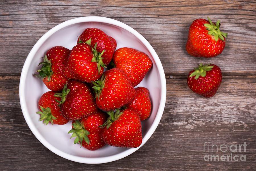 Strawberries Photograph