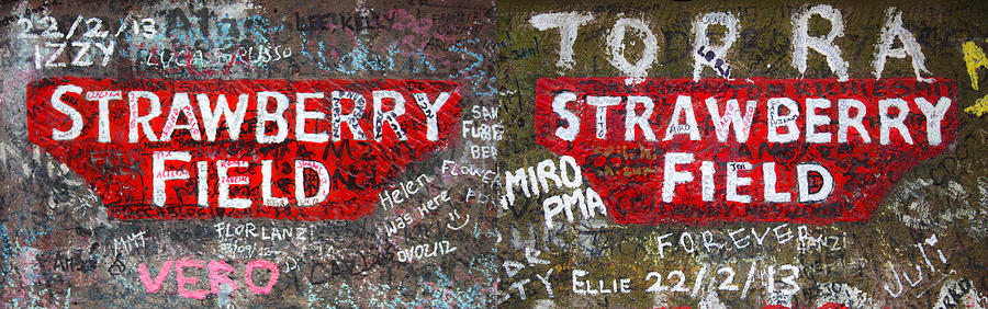Strawberry Fields Forever Photograph - Strawberry Fields Forever by Semmick Photo
