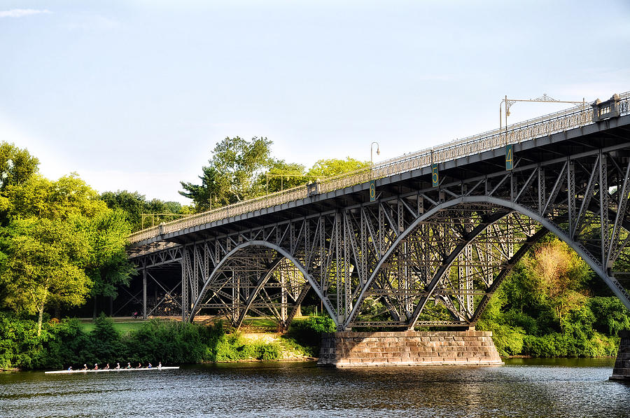 Strawberry Mansion Bridge And The Schuylkill River Photograph