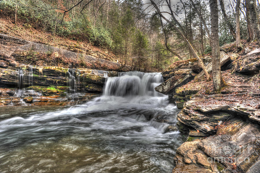 Stream Thurmond Wv.waterfalls Photograph - Stream Near Thurmond Wv by Dan Friend