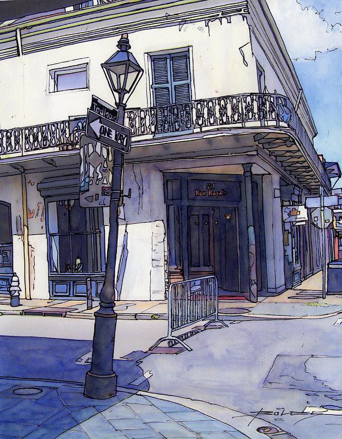 Street Corner 214 Painting