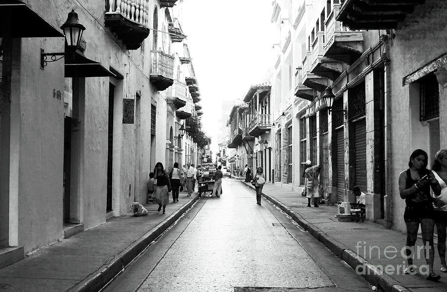 Streets Of Cartagena I Photograph