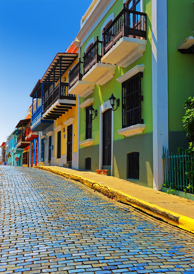 Streets Of Old San Juan Photograph