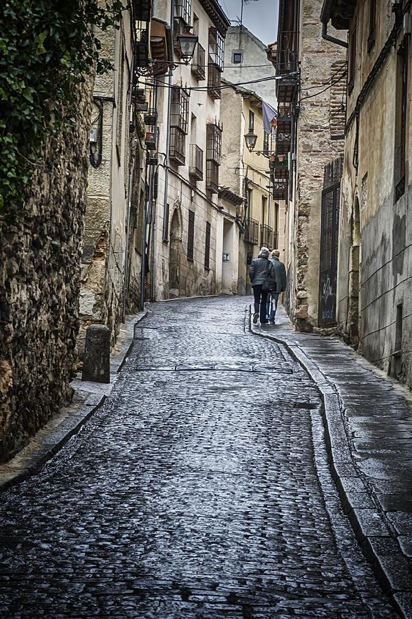 Streets Of Segovia Photograph