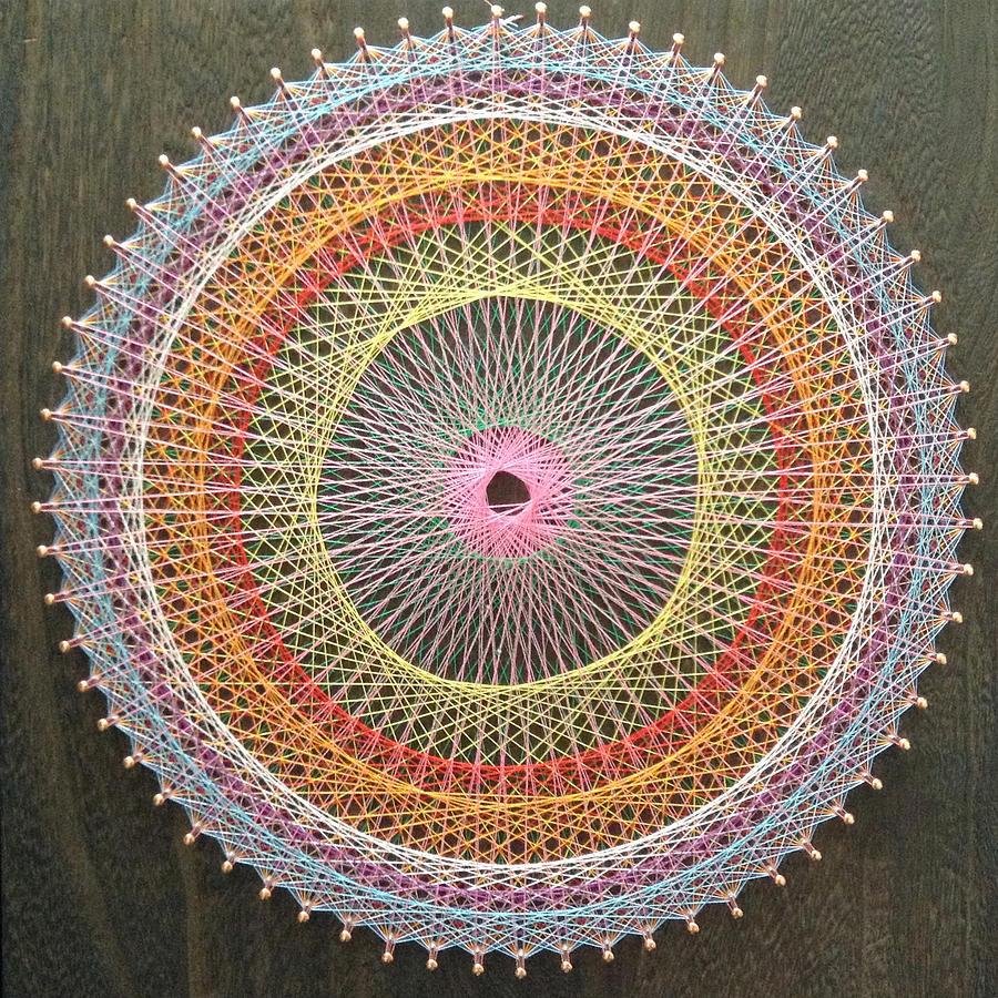 String Mandala Photograph by Chifuyu Seta