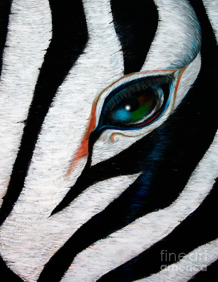 Stripes Painting  - Stripes Fine Art Print