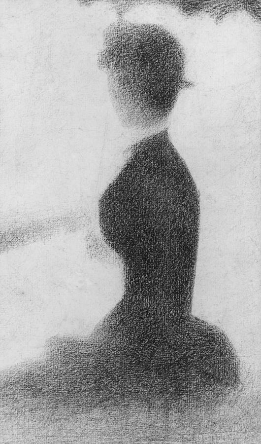 Study For Sunday Afternoon On The Island Of La Grande Jatte Drawing  - Study For Sunday Afternoon On The Island Of La Grande Jatte Fine Art Print