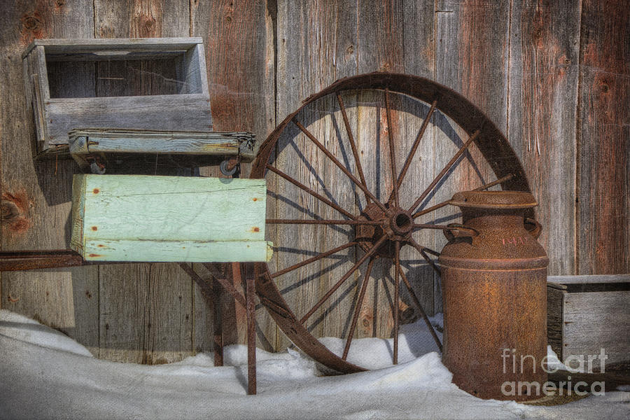 Stuff In The Snow Photograph  - Stuff In The Snow Fine Art Print