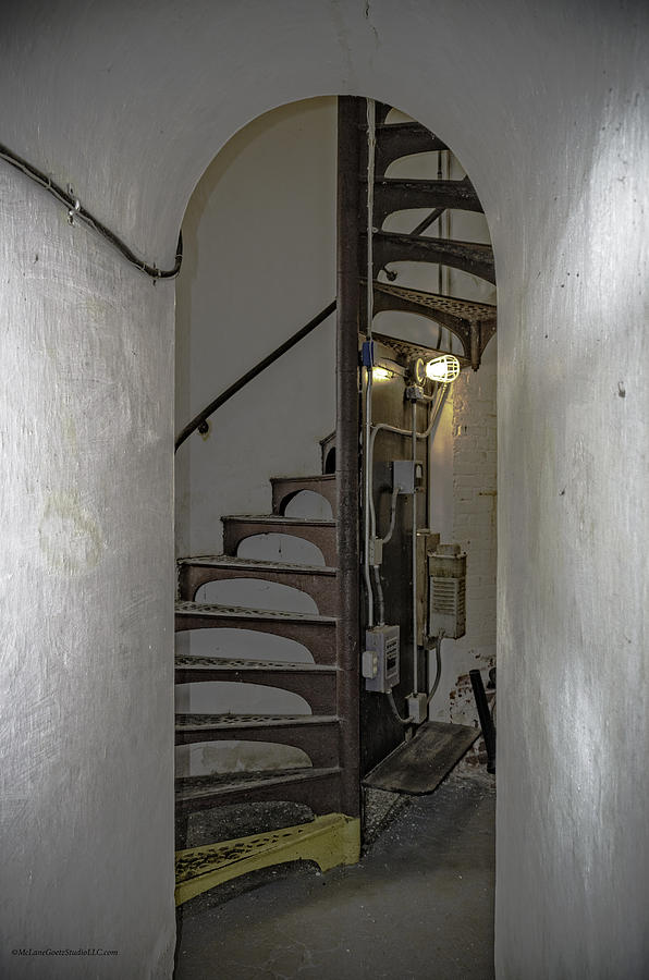 Sturgeon Point Lighthouse Spiral Staircase Photograph By