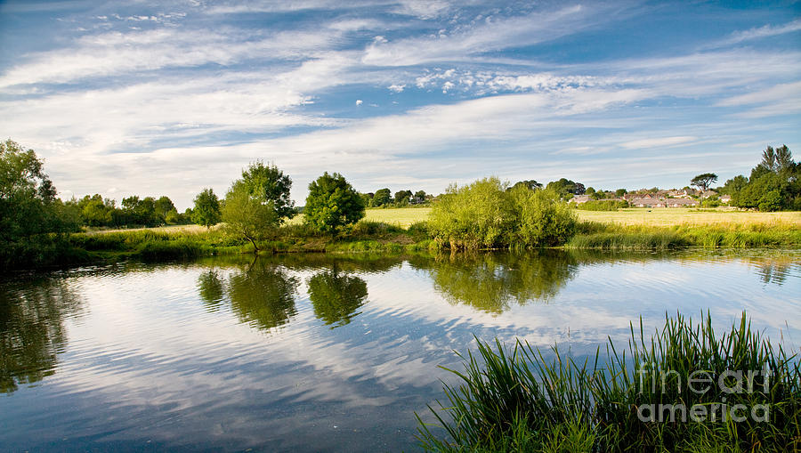 Sturminster Newton - River Stour - Dorset - England Photograph