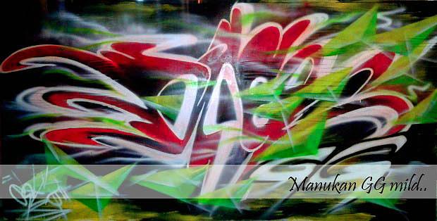Mural  Painting - Style by Oke Masdiananta