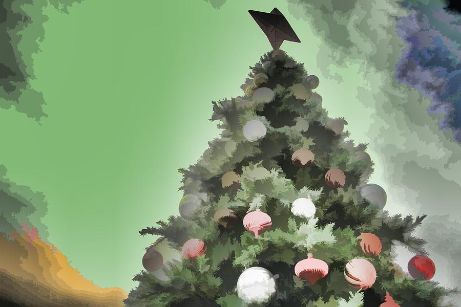 digital art christmas tree - photo #14