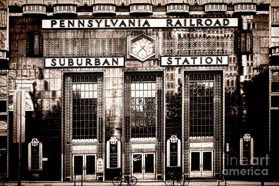 Suburban Station Photograph