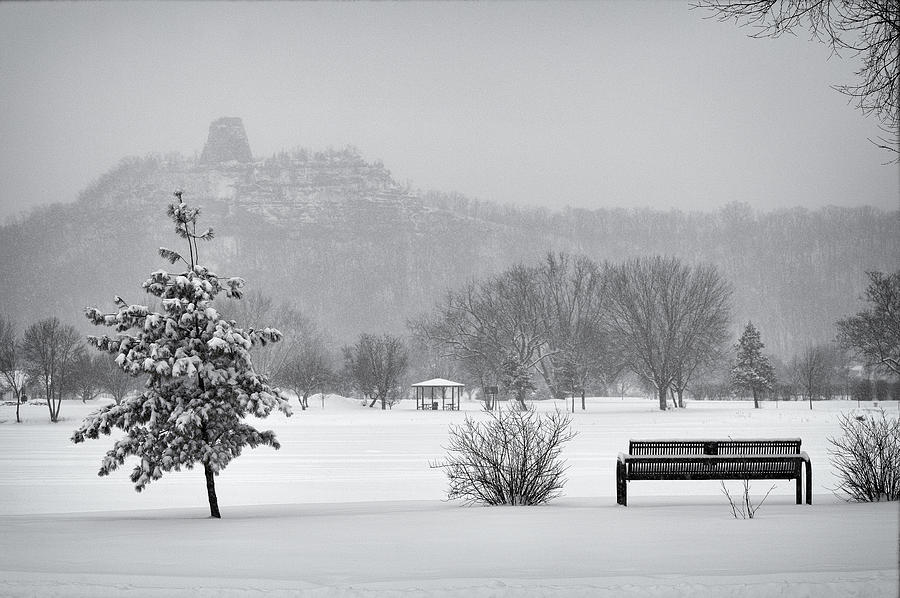 Sugarloaf Snowstorm Photograph