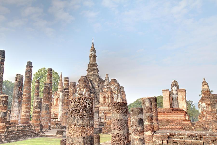 Sukhothai Historical Park - Sukhothai Thailand - 011330 Photograph