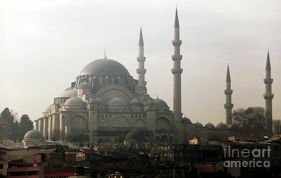 Suleymaniye Mosque Photograph by John Rizzuto