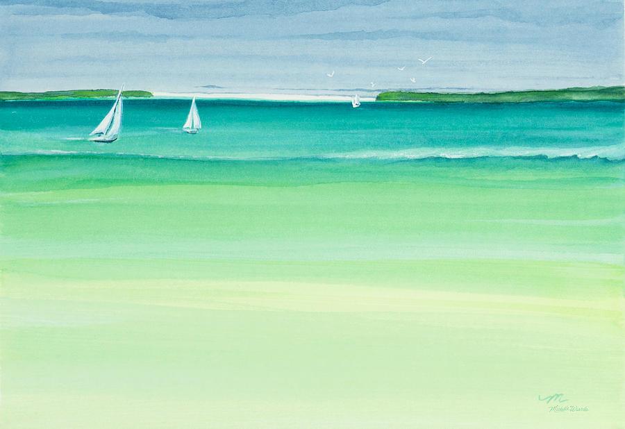 Summer Breeze Painting - Summer Breeze by Michelle Wiarda