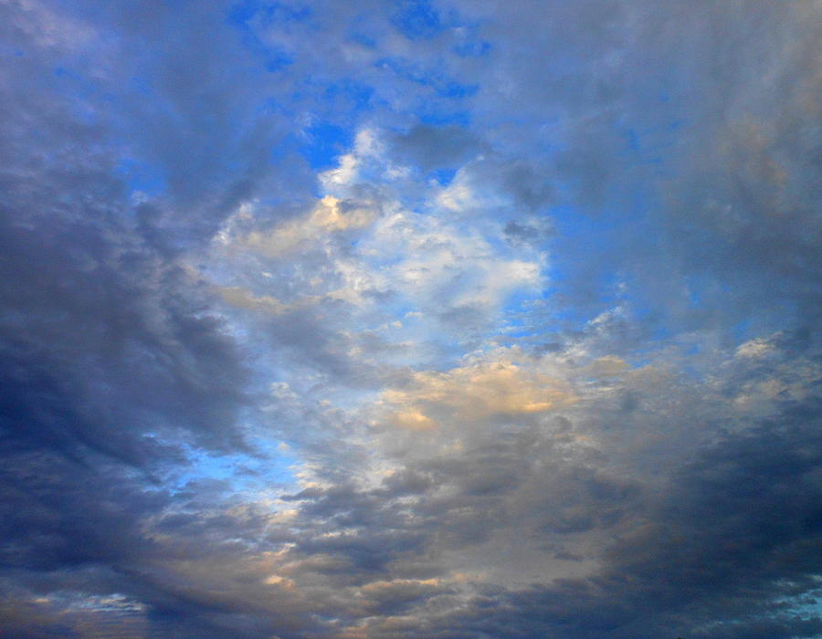 Summer Clouds Photograph  - Summer Clouds Fine Art Print