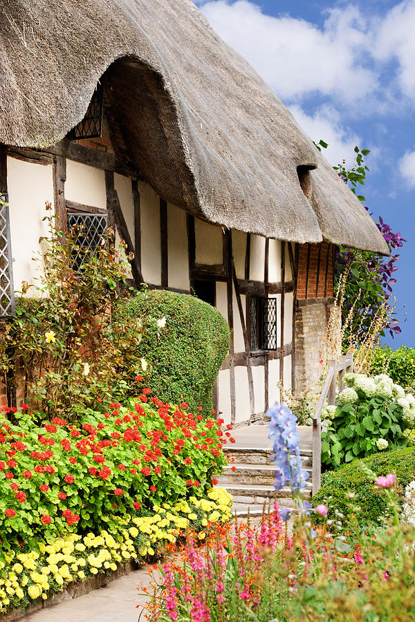 Summer Cottage Garden Photograph By Jo Ann Snover