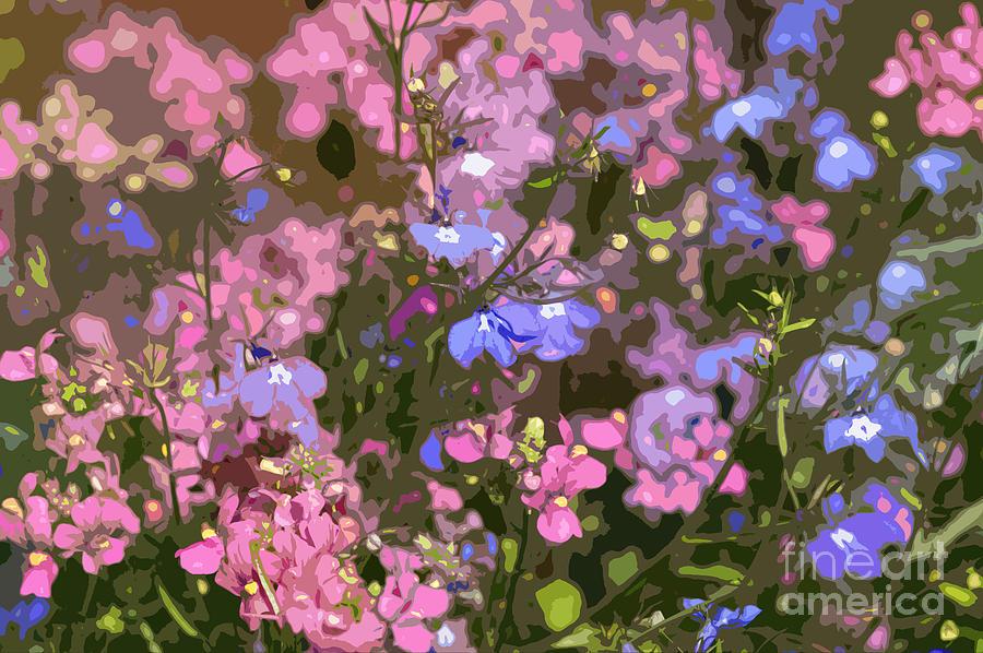 Summer Garden Digital Art