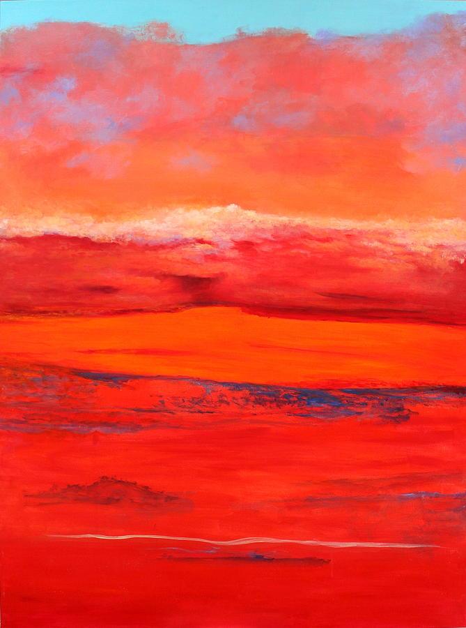Summer Heat 2 Painting By M Diane Bonaparte
