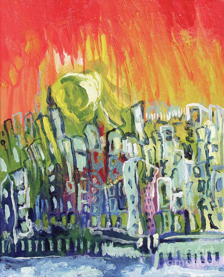 Summer In The City Painting