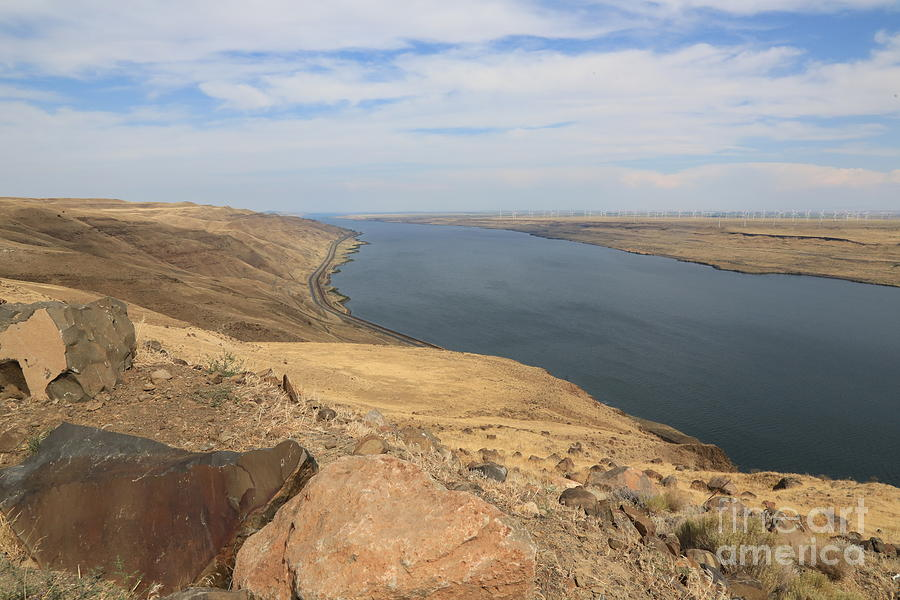 Summer On The Columbia River Photograph