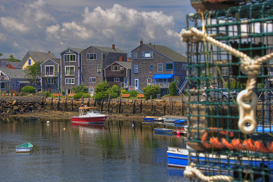 Summer On The Harbor Photograph  - Summer On The Harbor Fine Art Print