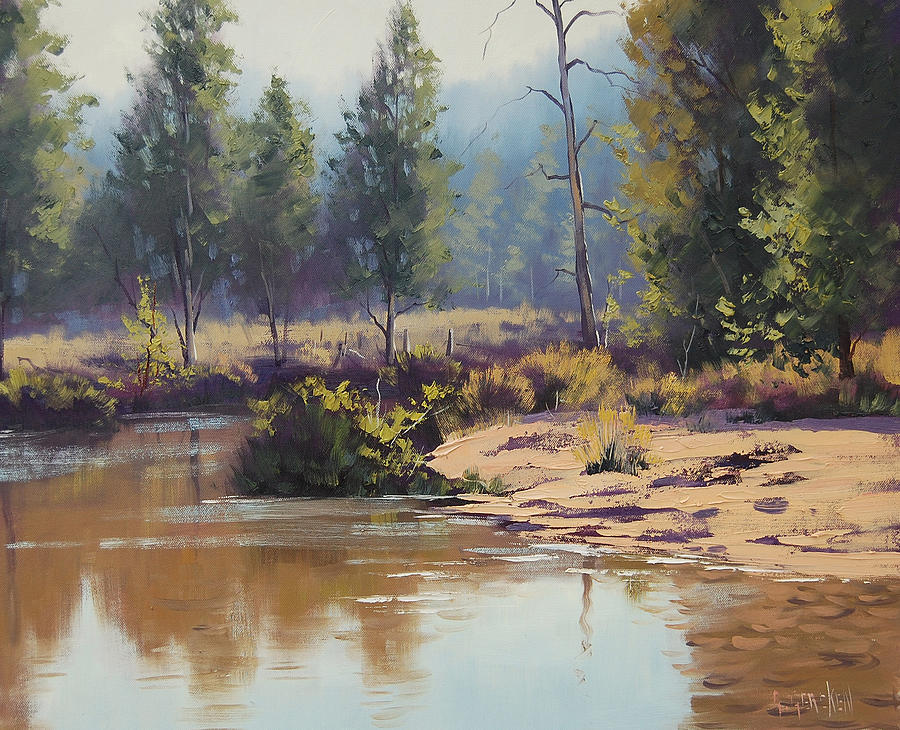 Summer River  Painting
