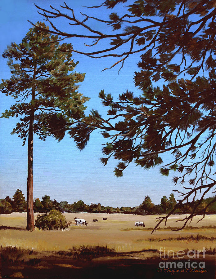 Scene Painting - Summer Serenity by Suzanne Schaefer